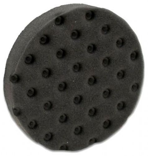 "Lake Country CCS Black DA Foam Polishing Pad 6.5"" Soft Finishing Waxing"